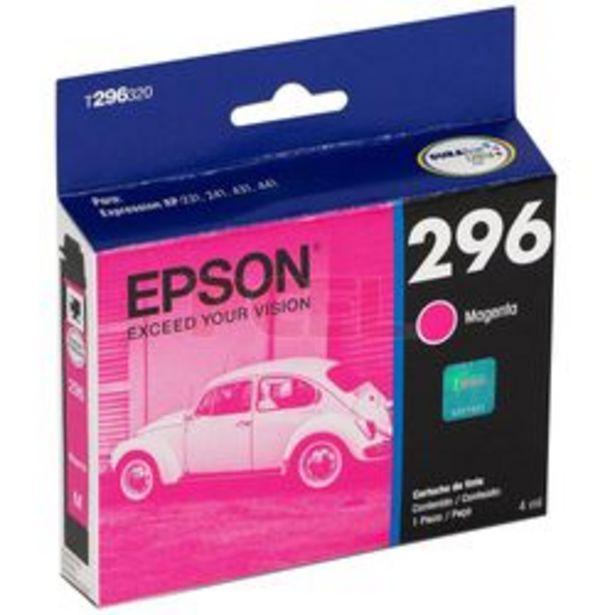 Oferta de Cartucho de Tinta Epson T296320-AL Magenta por $1,399
