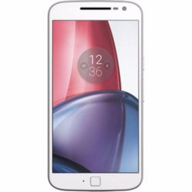 Oferta de Celular Liberado Motorola Moto G4 Plus XT1641 Blanco/dorado 32 GB por $25,999