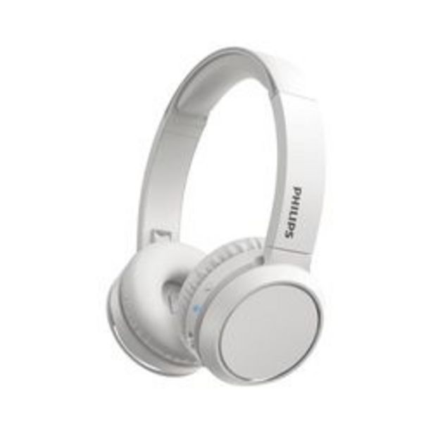 Oferta de Auriculares Audio Bluetooth Philips TAH4205WT/00 Blanco por $4,199
