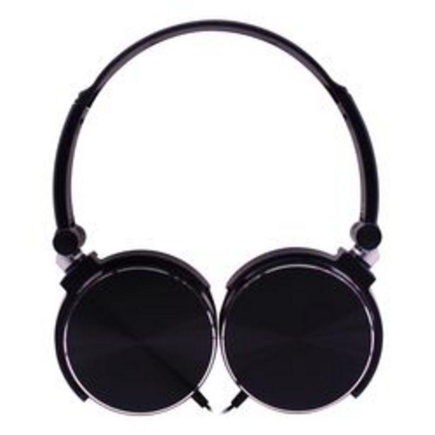 Oferta de *Auriculares 3.5 mm Noblex HP107BB Negro por $1,799