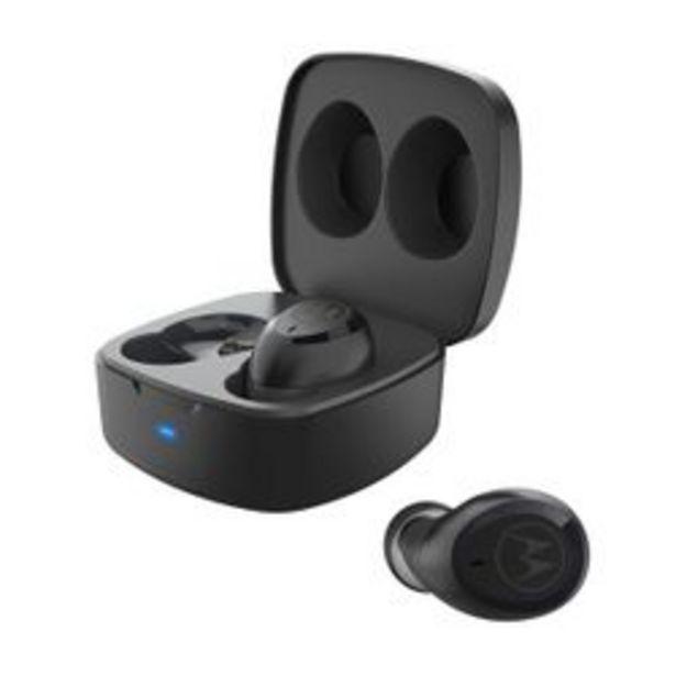 Oferta de Auriculares Motorola Verve  Buds 100 Black BT  Negro por $6,321
