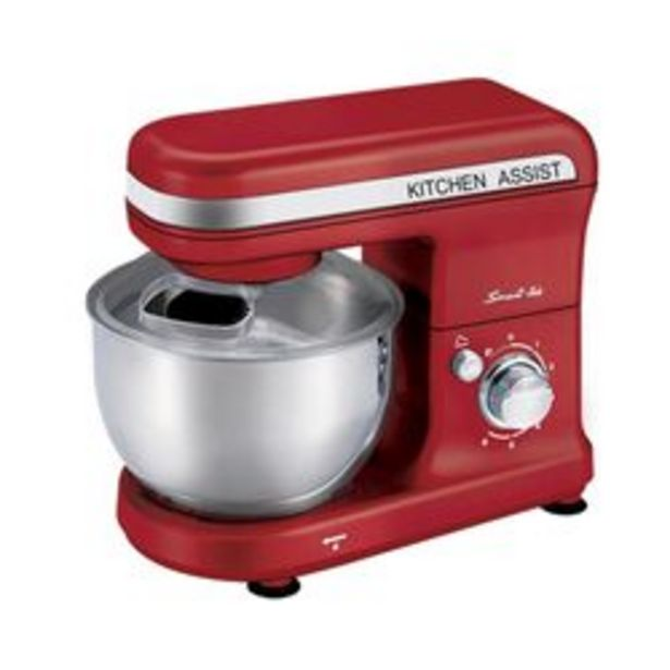 Oferta de Batidora Smart-Tek Kitchen assist Rojo por $14,999