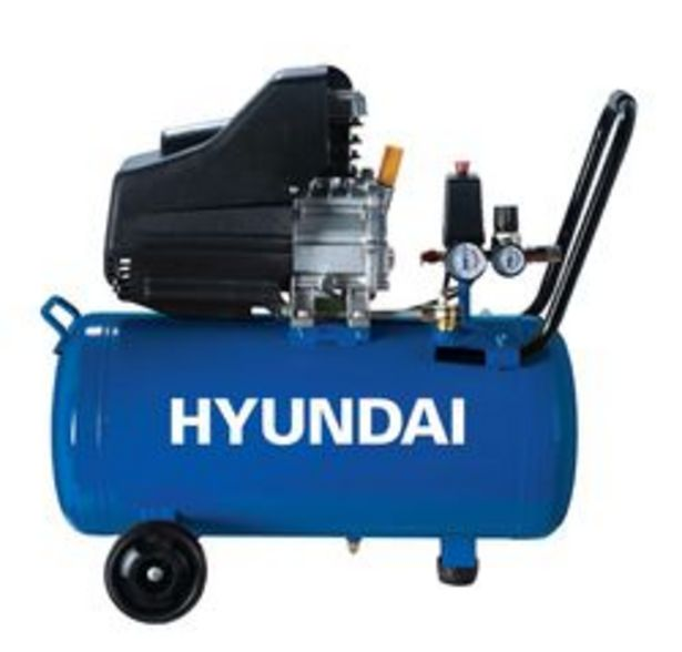 Oferta de Mini Compresor Hyundai Motocompresor 2HP por $13,76