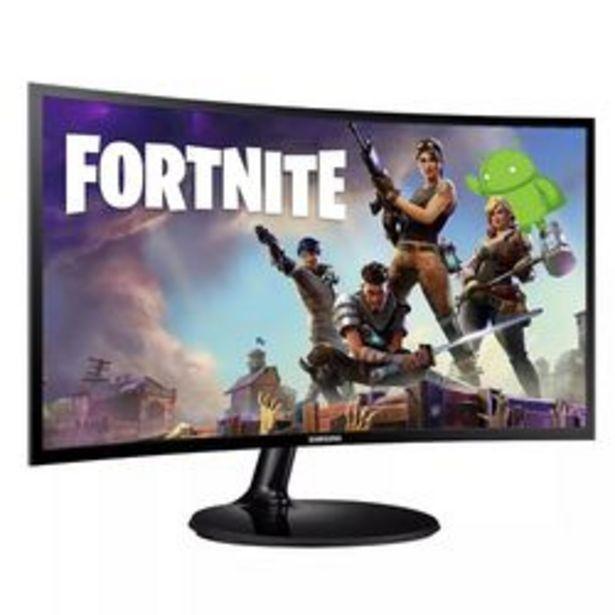 "Oferta de Monitor Curvo LED Samsung 24 "" LC24F390FHLXZB por $31,999"