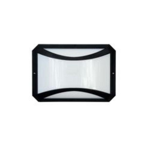 Oferta de Aplique de Pared LED Artelum Ninja I 10 W. 18 x 26 Cm. Negro U. por $1,655