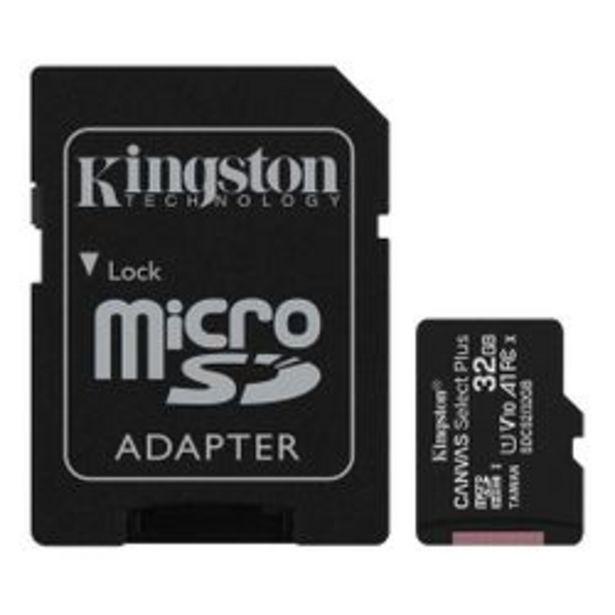 Oferta de Tarjeta de Memoria Micro SD Kingston SDCS2 32 GB por $1,008