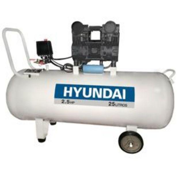 Oferta de Mini Compresor Hyundai Motocompresor 24 Lts S/ Aceite por $21,44