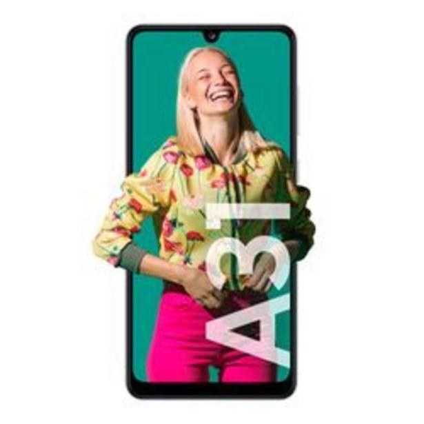 Oferta de Celular Libre Samsung A31 Blanco por $31,999