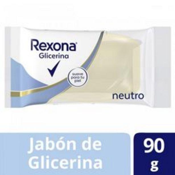 Oferta de Jabón en Barra Rexona Glicerina Neutro 90 Gr. 1 U. por $48