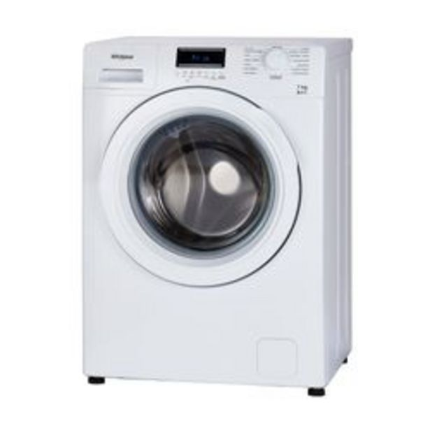 Oferta de Lavarropas Automático Whirlpool 7 KG WNQ07AB Blanco por $54,999