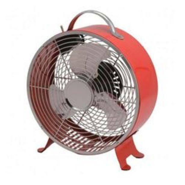 Oferta de Ventilador de Mesa Protalia VC12T Rojo por $3,999