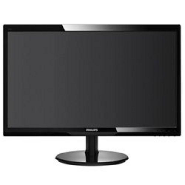 """Oferta de Monitor LCD Philips 23.6 """" 243V5LHSB/55 HD por $34,112"""