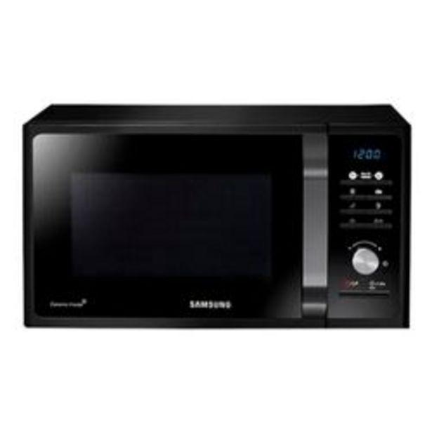 Oferta de Microondas Samsung 23 Lts. MG23F3K3TAS SILVER por $31,999