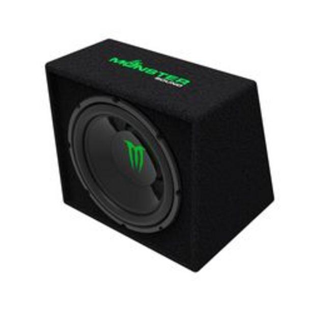 Oferta de Parlante para Auto Componente Monster Sound M-124B por $9,9