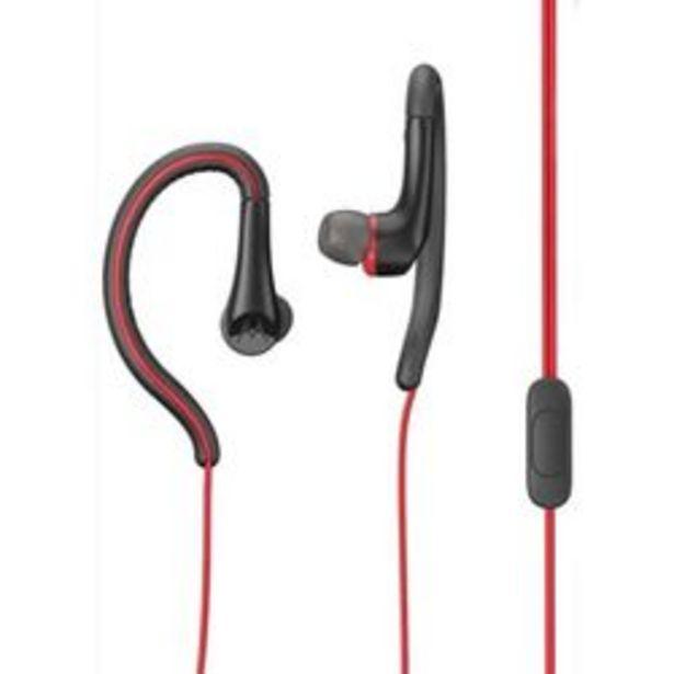 Oferta de Auriculares para Celular 3.5 mm Motorola EARBUDS SPORT Rojo por $680