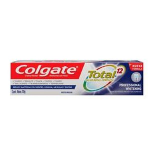 Oferta de Crema Dental Colgate Total 12 Mentol  Ml. por $89