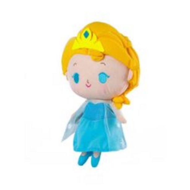 Oferta de Peluche Musical Elsa con Luz Frozen Disney Celeste AxToys 30 cm por $2,959