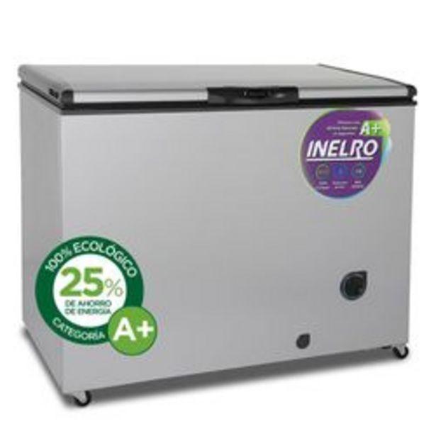 Oferta de Freezer Horizontal Inelro FIH-350P+ Plata 280 Lts. por $54,999