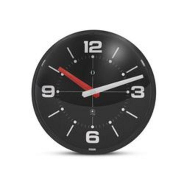 Oferta de Reloj de Pared Gato Ball Wall Clock Negro por $2,392
