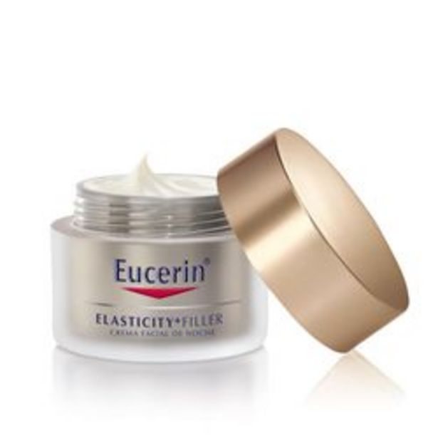 Oferta de Crema Facial Eucerin Hyaluron Filler + Elasticity Noche 50 Ml. 1 U. por $2,84