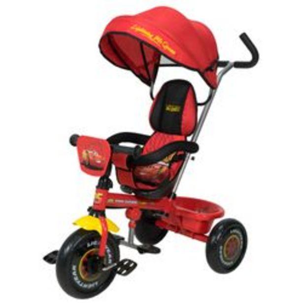 Oferta de Triciclo Disney Xg - 18819 Rayo Mc Queen Rojo y Negro por $14,299