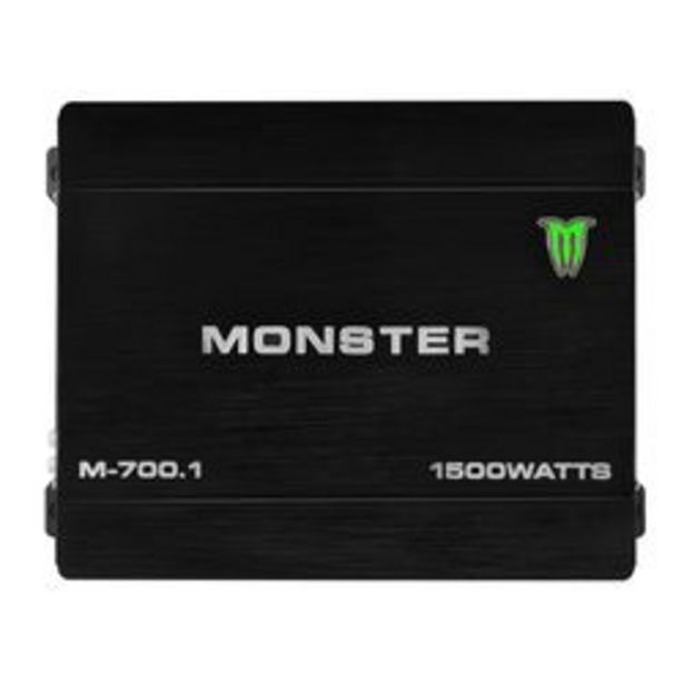 Oferta de Amplificador Monster Sound M-700.1 por $10,3