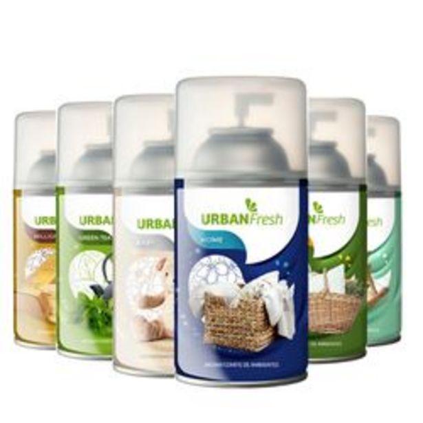 Oferta de Pack de Desodorante de Ambiente Shoppy Pack x6 Aerosoles Home 6 U. por $1,238