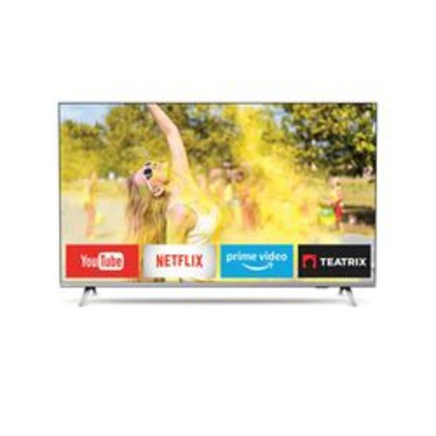 "Oferta de Smart TV Philips 55 "" 4K Ultra HD 55PUD6654/77 por $75,999"