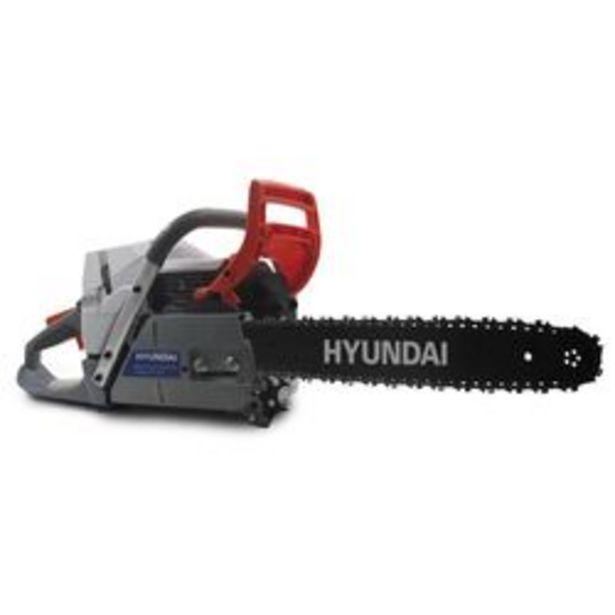 Oferta de Motosierra Naftera Hyundai Profesional 610 mm. por $33,6