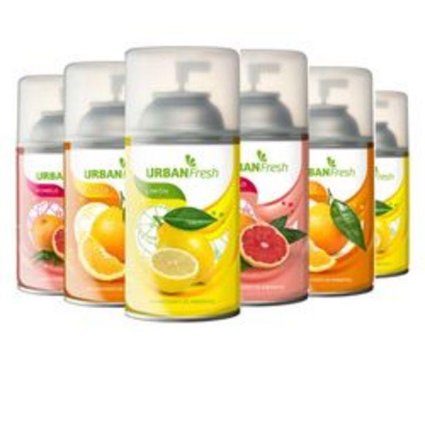 Oferta de Pack de Desodorante de Ambiente Shoppy Pack x6 Aerosoles Citricos 6 U. por $1,238
