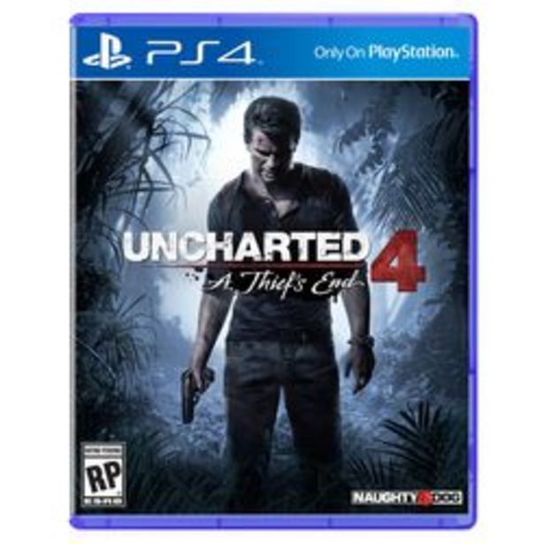 Oferta de UNCHARTED 4: A THIEF'S END PS4 por $1,799