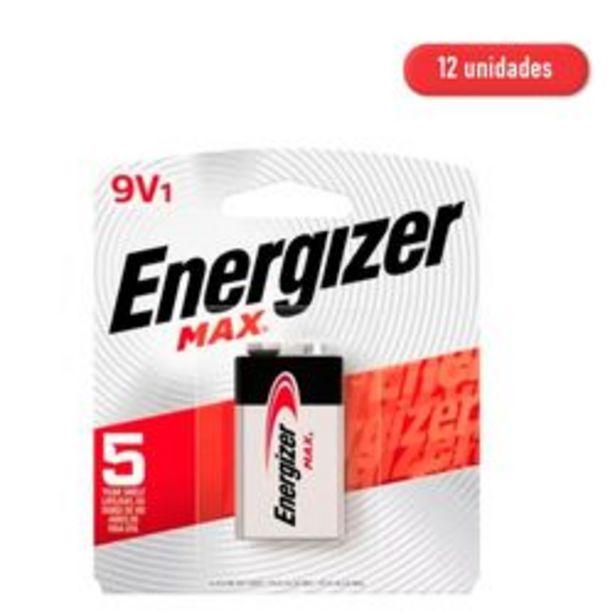Oferta de Baterías Energizer 9V 1 9V 12 U. por $1,633
