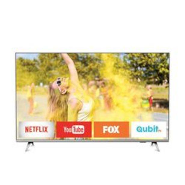 "Oferta de Smart TV LED Philips 58 "" 4K Ultra HD 58PUD6654/77 por $74,299"