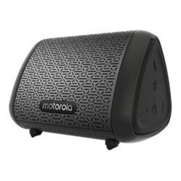 Oferta de Parlante Portátil Motorola Sonic Sub 240 Negro por $4,104