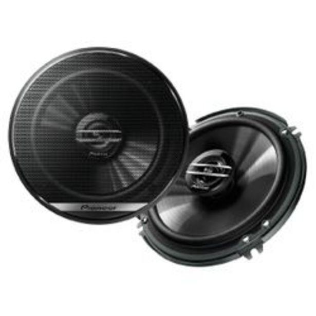 """Oferta de Parlante para Auto Pioneer TS-1620F 6 6,5"""" 2 Vías 300W por $7,899"""