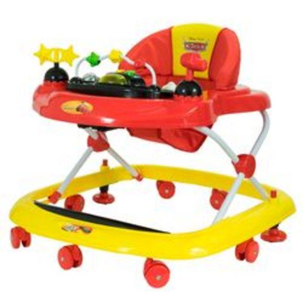 Oferta de Andador Disney N - 6928 Cars Rojo por $6,599