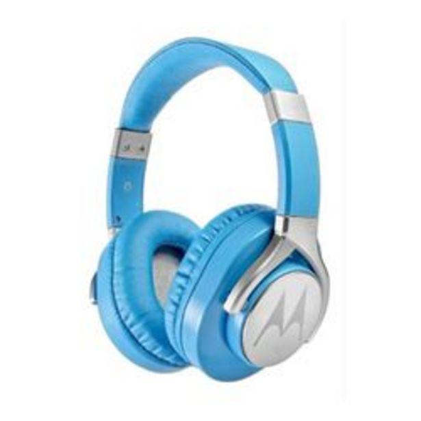 Oferta de Auriculares 3.5 mm Motorola Pulse Max 3.5mm Azul por $2,835