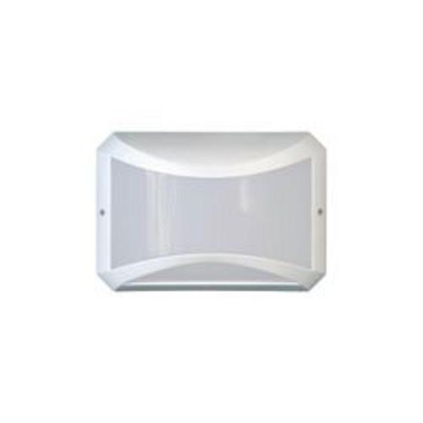 Oferta de Aplique de Pared LED Artelum Ninja II 10 W. 26.5 x 18 Cm. Blanco 1 U. por $1,656