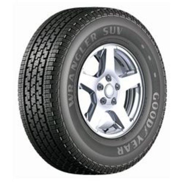 Oferta de Neumático Goodyear Wrangler SUV 225 / 65 R17 102 H por $20,709