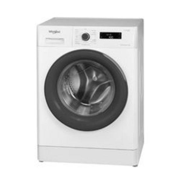 Oferta de Lavarropas Automático Whirlpool 8 KG WLF80AB Blanco por $68,599