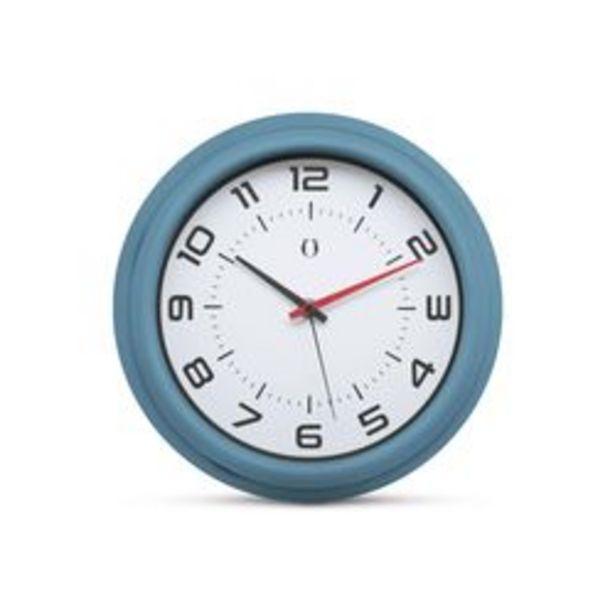 Oferta de Reloj de Pared Gato Rubber Azul por $2,241