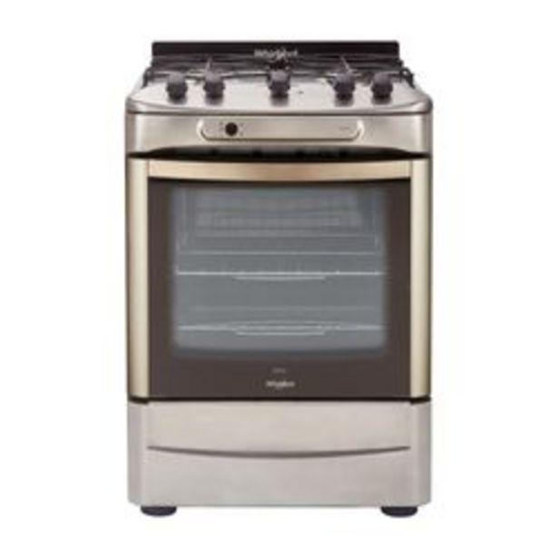 Oferta de Cocina Whirlpool 59.7 cm. WF360XG Multigas Inoxidable por $87,999