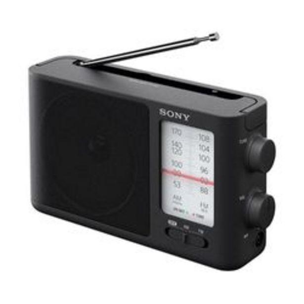 Oferta de Radio AM/FM Sony ICF-19 Negro por $5,499