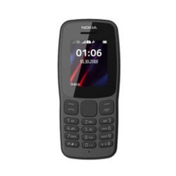 Oferta de Celular Libre Nokia 106 por $6,499