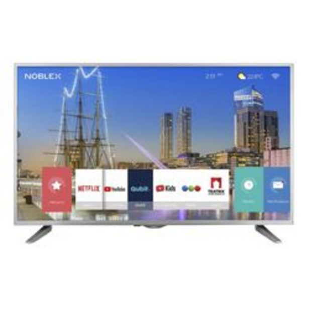 "Oferta de Smart TV LED Noblex 43 "" Ultra HD DJ43X6500PI por $41,999"
