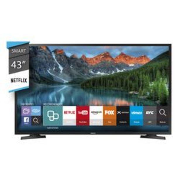 """Oferta de Smart TV Samsung 43"""" Full HD UN43J5290AGCZB por $38,999"""