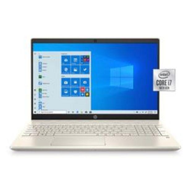 """Oferta de Notebook HP CS3075WM Premium 15.6 """" Intel Core i7 8 GB DDR4 por $154,999"""