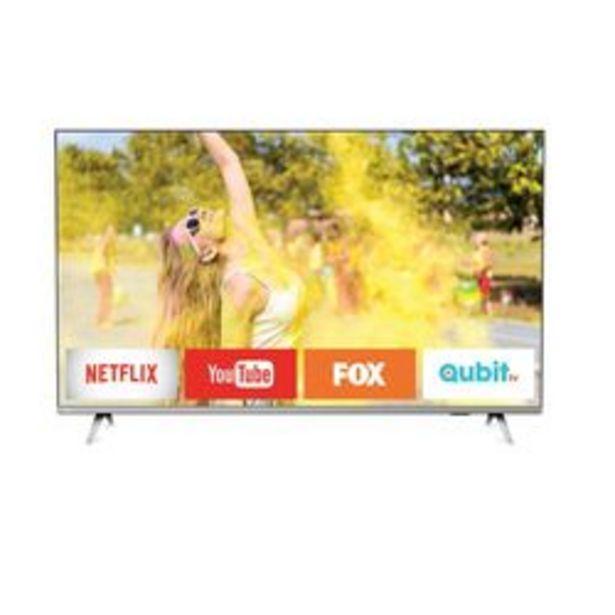 "Oferta de Smart TV LED Philips 50 "" 4K Ultra HD 50PUD6654/77 por $54,999"