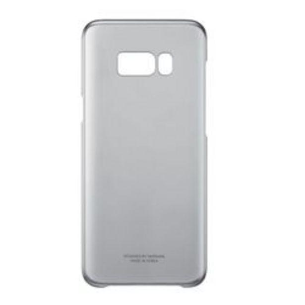 Oferta de Carcasa Samsung  Clear Cover - S8 Plus G955 Negro por $499