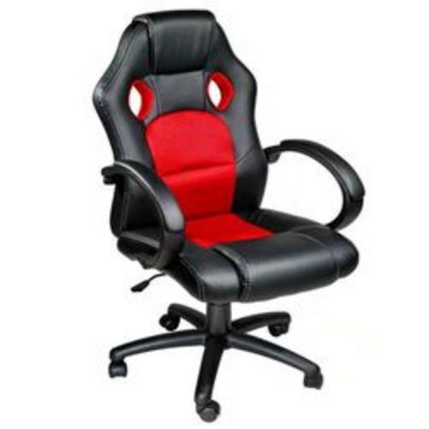 Oferta de Silla Gamer Hessen Home Ideal P/ Playstation,xbox, Gaming,pc  Negro y Rojo por $21,99